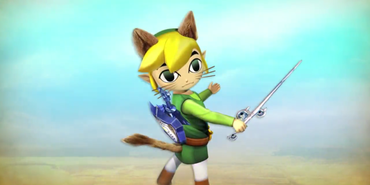 Toon Link Meows His Way Into Monster Hunter: Generations