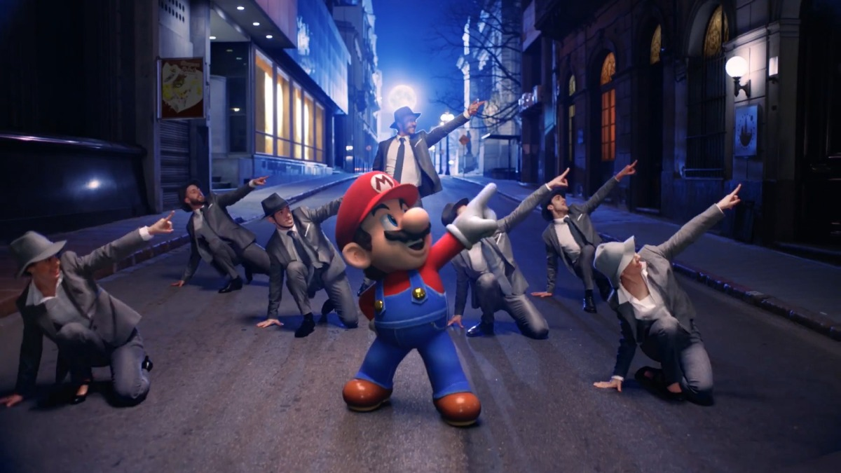 Super Mario Odyssey Gets Official Music Video